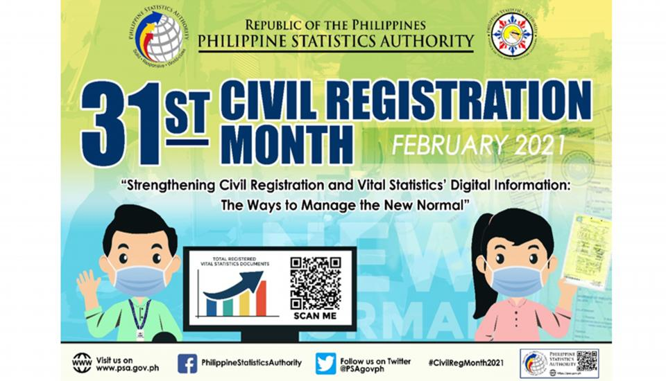 31st Civil Registration Month